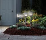 NOMA Low Voltage Large LED Light Stake Kit, 4-pk | NOMA | Canadian Tire