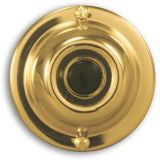 HeathZenith Wired Door Chime Button, Polished Brass | Heath | Canadian Tire