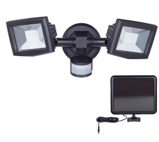 Noma Led Solar Powered Motion Flood Light Canadian Tire