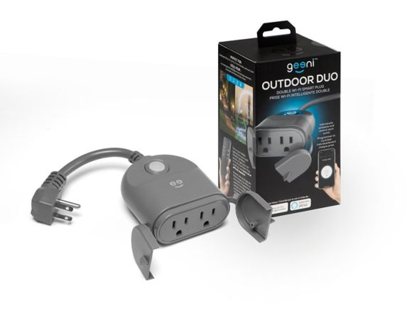 Geeni Outdoor Duo 2-Outlet Smart Plug Product image