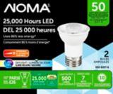 NOMA LED PAR16 50W Dimmable Light Bulb, 2-pk   NOMA   Canadian Tire