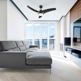 NOMA Contemporary Ceiling Fan, 42-in | NOMAnull