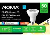 NOMA 50W PAR20 LED Light Bulbs, 2-pk | NOMAnull