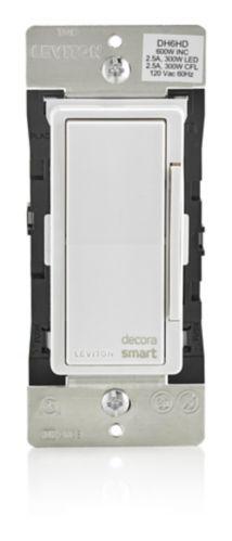 Gradateur intelligent Leviton Decora, technologie HomeKit