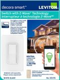 Leviton Decora Smart Switch with Z-Wave Plus Technology   Leviton   Canadian Tire