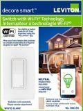 Leviton Decora Smart Switch with Wi-Fi Technology | Leviton | Canadian Tire