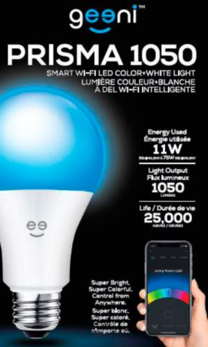 Geeni Colour &  White Smart LED Light Bulb Product image