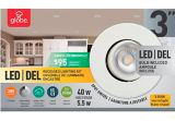 Globe Traditional Round LED Recessed Lighting Kit, Warm White, White Trim, 3-in, Single | Globe | Canadian Tire