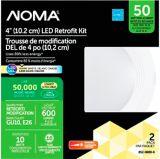 NOMA LED 50W Warm White Retrofit Kit, 4-in, 2-pk | NOMA | Canadian Tire