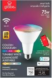 Globe Wi-Fi PAR30 Dimmable LED Smart Bulb, Multi-Colour | Globe | Canadian Tire