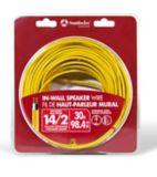Fil pour haut-parleur intramural Southwire, 30 m, jaune, 14-2 | Southwire | Canadian Tire