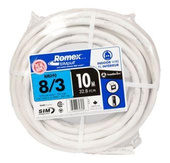 Câble électrique Avec Fil De Cuivre Southwire Nmd90 10 M 8 3