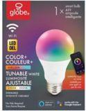 Ampoule Wi-Fi Globe, A19, incolore | Globe | Canadian Tire