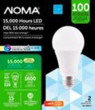 NOMA LED A19 100W Dimmable Daylight Light Bulb, 2-pk | NOMA | Canadian Tire