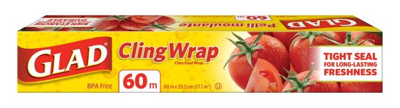 Glad Cling Wrap, 60-m