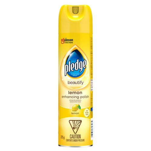 Pledge Lemon Furniture Polish,275-g