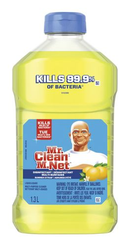 Mr. Clean Antibacterial Multi-Surface Cleaner, Citrus, 1.3-L Product image