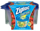 Ziploc Large, Round Snap n' Seal Containers, 4-Pk | Ziploc | Canadian Tire