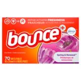 Bounce with Febreze Dryer Sheets, 70-pc | Bounce | Canadian Tire