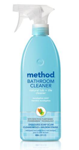 Nettoyant de douche et de carreaux method, 828 ml
