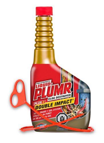 Liquid Plumr Double Impact Snake Gel System