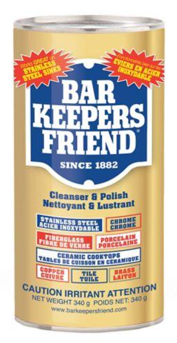 Nettoyant en poudre Bar Keepers Friend