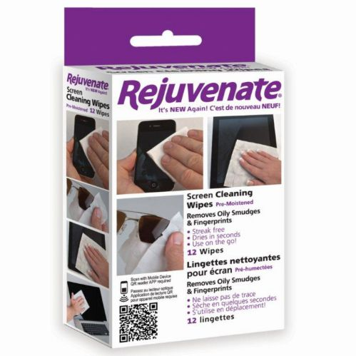 Rejuvenate Screen Cleaning Wipes