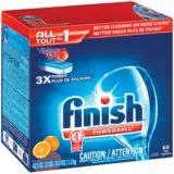 Finish All-in-1 Powerball, 60-ct   Finish   Canadian Tire
