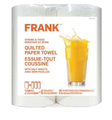 FRANK Strong & Thick Paper Towel, 2-pk Product image