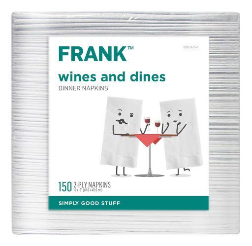 FRANK Dinner Napkins, 150-pk Product image