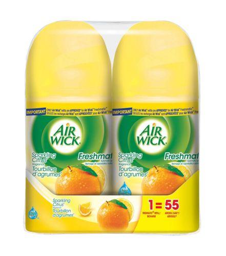 Airwick Freshmatic Twin Refill, Citrus