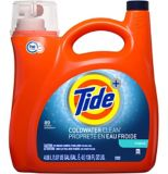 Tide High Efficiency Coldwater Clean Liquid Laundry Detergent, 89-Load | Tide | Canadian Tire