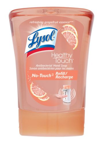 Lysol Healthy Touch No-Touch Hand Soap Refill, Grapefruit