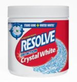 Resolve Oxi-Action Crystal White In-Wash Stain Remover | Resolve | Canadian Tire