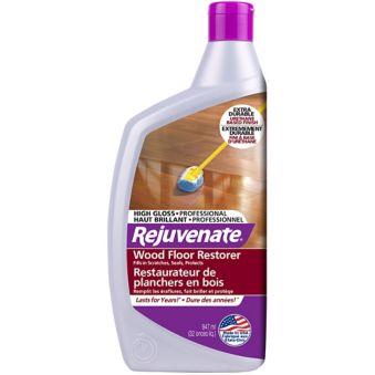 Rejuvenate Wood Floor Restorer With High Gloss Finish 32 Oz