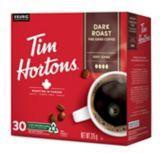 Dosettes K-Cup Keurig Tim Hortons, Torréfaction foncée, paq. 30 | Tim Hortons | Canadian Tire