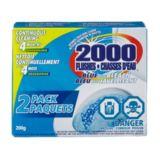 Nettoyant 2000 chasses d'eau, bleu et javellisant, paq. 2 | 2000 Flushes | Canadian Tire