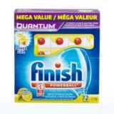 Détergent à lave-vaisselle Finish Quantum Powerballs paq. 72 | Finish | Canadian Tire