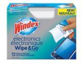Windex Electronic Wipe & Go, 12-pk | Windexnull