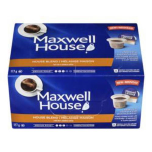 Maxwell House K -Cup Pods, 12-pk