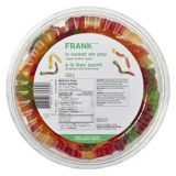 FRANK Gummy Worms Tub, 600-g | FRANK | Canadian Tire