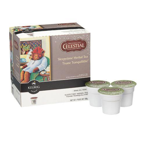 Keurig Sleepytime Herbal Tea K-Cup Pods, 18-pk