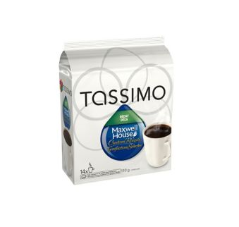 Tassimo Maxwell Decaf House Blend, 14-pack