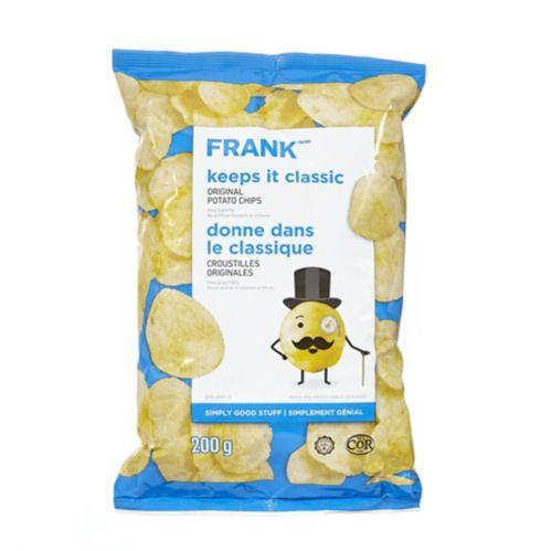 Croustilles originales FRANK, 200 g Image de l'article