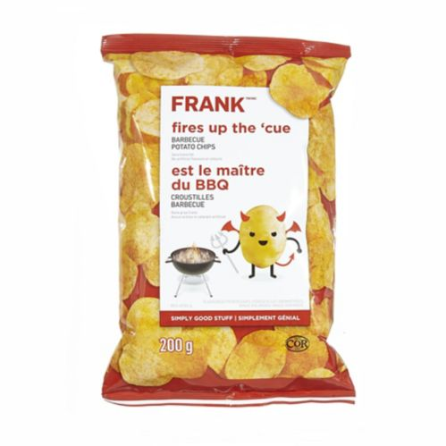 FRANK BBQ Chips, 200-g Product image