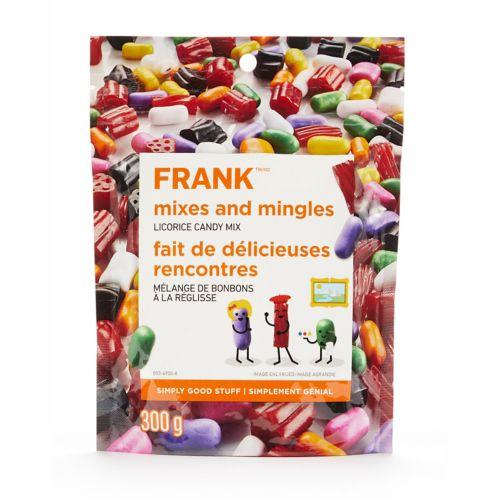FRANK Licorice Mix, 300-g