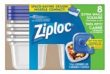 Ziploc Extra-Small Square Container, 8-pk | Ziploc | Canadian Tire
