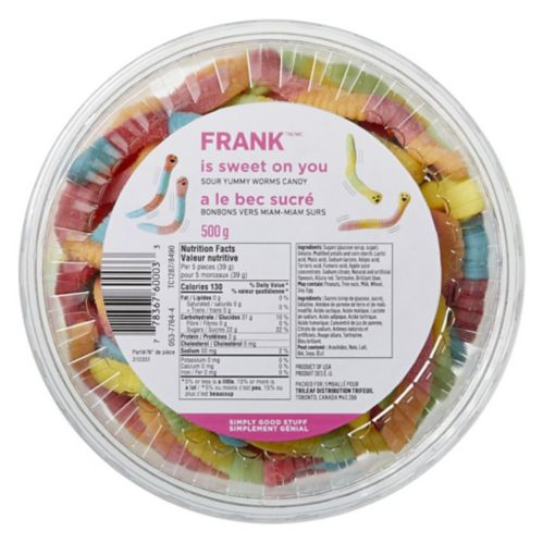 FRANK Sour Worms, 500-g Product image