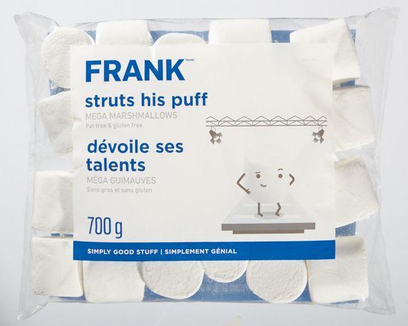 FRANK Giant Roaster Marshmallows, 700-g