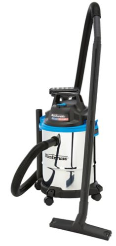 Mastervac Stainless Steel Wet Dry Vacuum, 15-L
